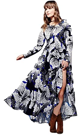 464c51c929 Image Unavailable. Image not available for. Color  Free People First Kiss  Printed Dress Dark Onyx Combo S