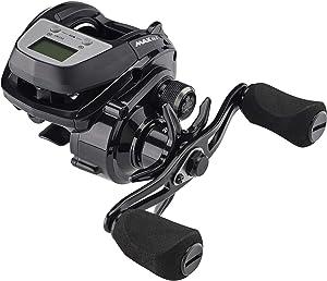 Abu Garcia Max DLC Low Profile Baitcast Fishing Reel, Black