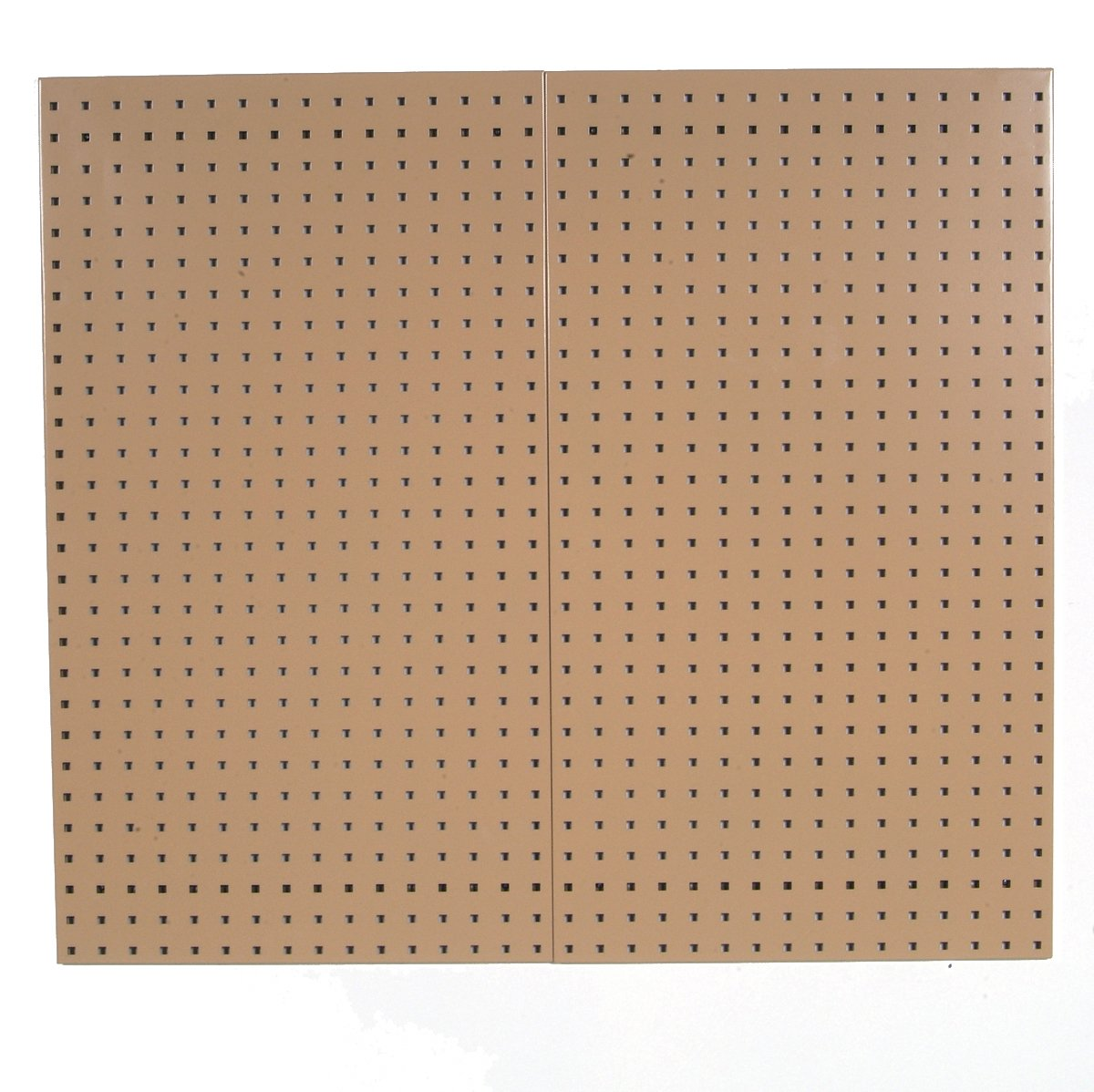 Triton Products LB18-T LocBoard Steel Square Hole Pegboards, 18-Inch x 36-Inch x 9/16-Inch, Tan