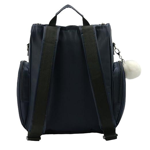 Amazon.com: kayhoma bolsa de pañales de bebé mochila de ...