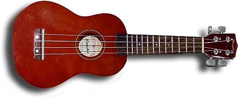 Memphis Ukelele Soprano con funda Marrón: Amazon.es: Instrumentos ...
