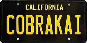 CobraKai   Season 2   Metal Stamped License Plate