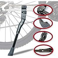 Lycoon Fietsstandaard, aluminiumlegering, instelbare fietsstandaard met antislip rubberen voet, fietsstandaard voor…