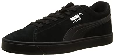 Puma Suede Classic Natural Warmth, Sneakers Basses Mixte Adulte, Noir (Black-Black), 43 EU