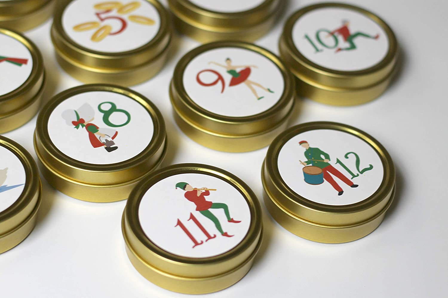 12 Days Of Christmas Magnetic Advent Calendar