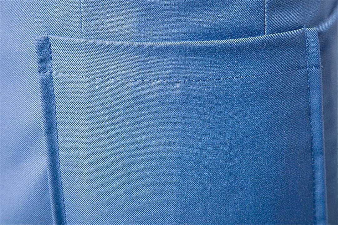 Spring Autumn Men Casual Cotton Slim Fit Classic Smart Patchwork Suit Jacket