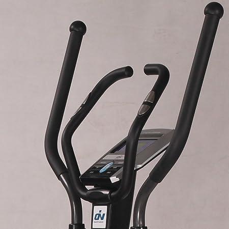 ION Fitness SHARP EMS FI232 bicicleta elíptica. Volante de inercia 10 kg.Freno electromagnético (EMS).Zancada de 40 cm.Estructura reforzada.