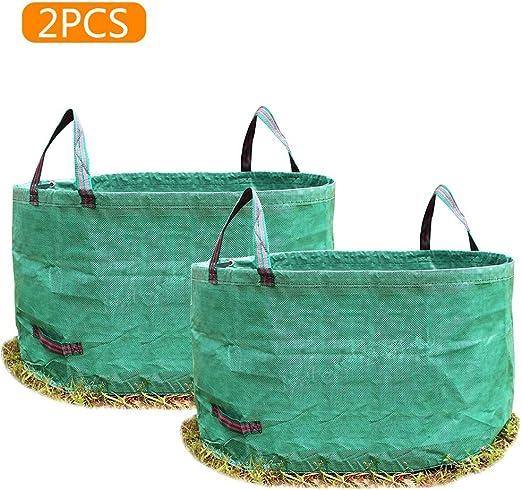 WMG&BB Las Bolsas de Basura para jardín de césped, Las Bolsas Reutilizables, Las Bolsas de Basura Resistentes e Impermeables Son Las Mejores para Las malezas de Plantas y Flores,B: Amazon.es: Hogar