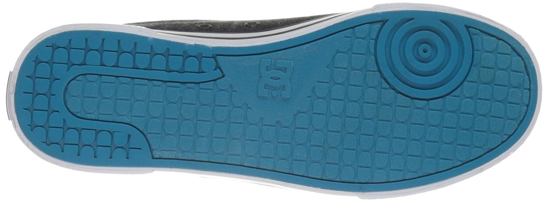 DC Women's Chelsea Se Skate Shoe B01HC41MI0 2.5 M US Little Kid|Black/Aqua