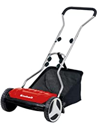 Einhell GE-HM 38 S-F Manual Hand Lawn Mower, Red