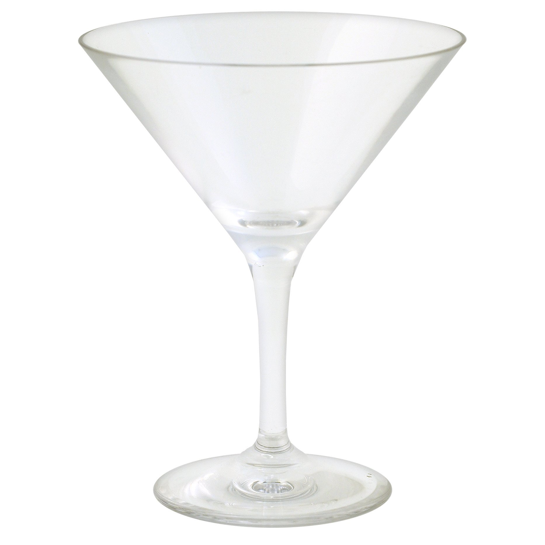 Strahl Martini Glasses, 10-Ounce, Set of 4
