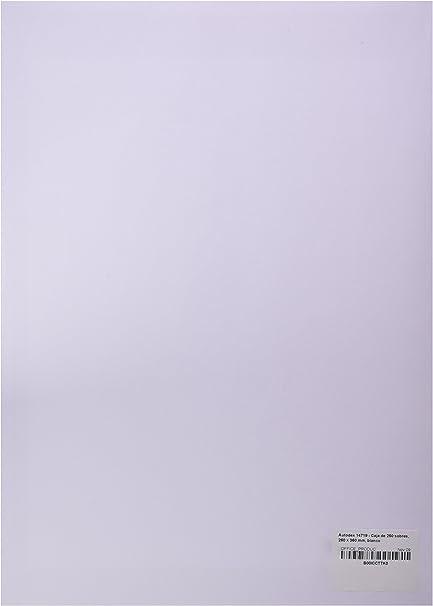 Autodex 14719 - Caja de 250 sobres, 260 x 360 mm, blanco: Amazon ...