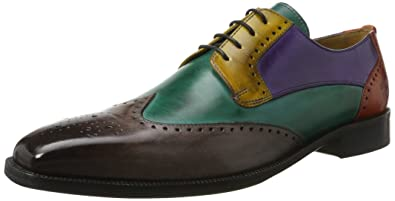 Melvin   Hamilton Jeff 14, Chaussures Derby Homme - Multicolore -  Mehrfarbig (Classic Stone 64b2ffd1a757