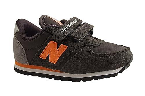 NEW BALANCE KIDS Zapatillas de Deporte Para Niña, Naranja (Naranja), 21