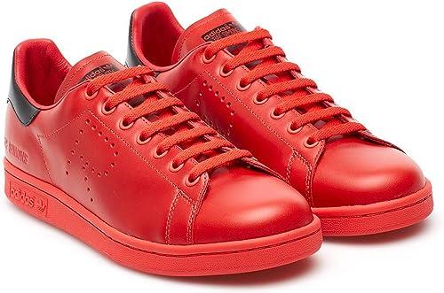 adidas Originals Baskets RAF Simons Stan Smith Rouge Noir Homme: Amazon.fr:  Chaussures et Sacs