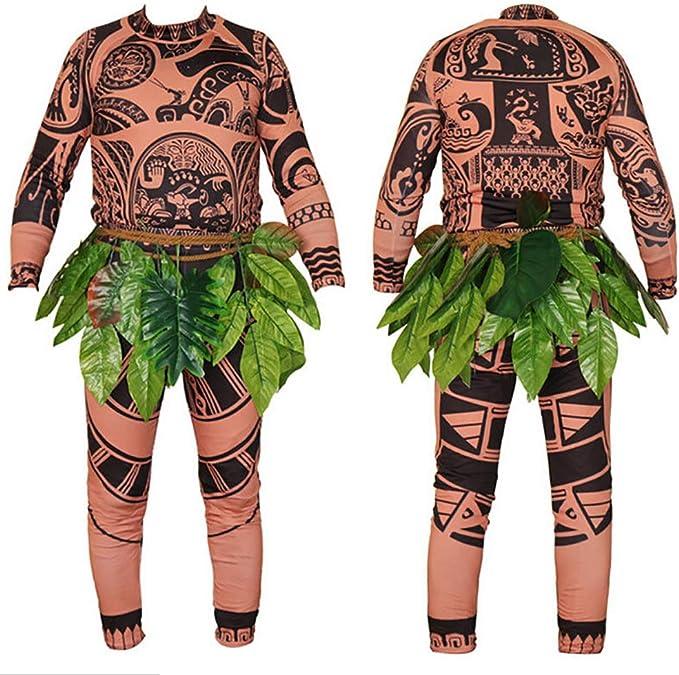Wide.ling Moana Maui Tattoo Camiseta/Pantalones Adultos Hombres ...