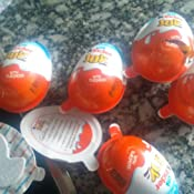 2 Boxes (6 Eggs) Surprise Chocolate JOY for BOY by Kinder Joy ...