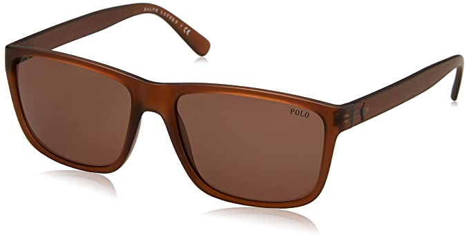 Ralph Lauren POLO 0PH4113 Gafas de Sol, Matte Brown, 57 para ...
