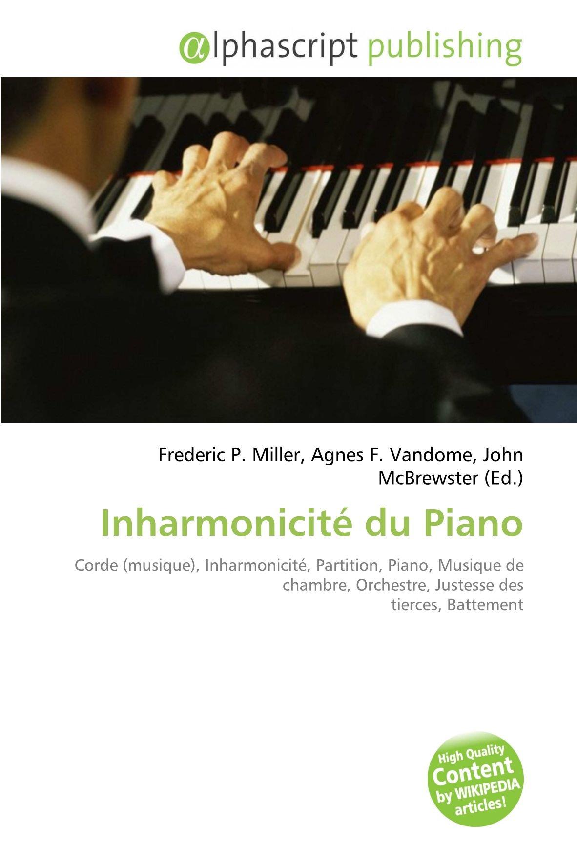 Inharmonicité du Piano: Corde musique , Inharmonicité ...