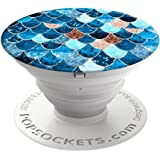PopSockets 707148 : Expanding Stand and Grip for Smartphones and Tablets - Really Mermaid