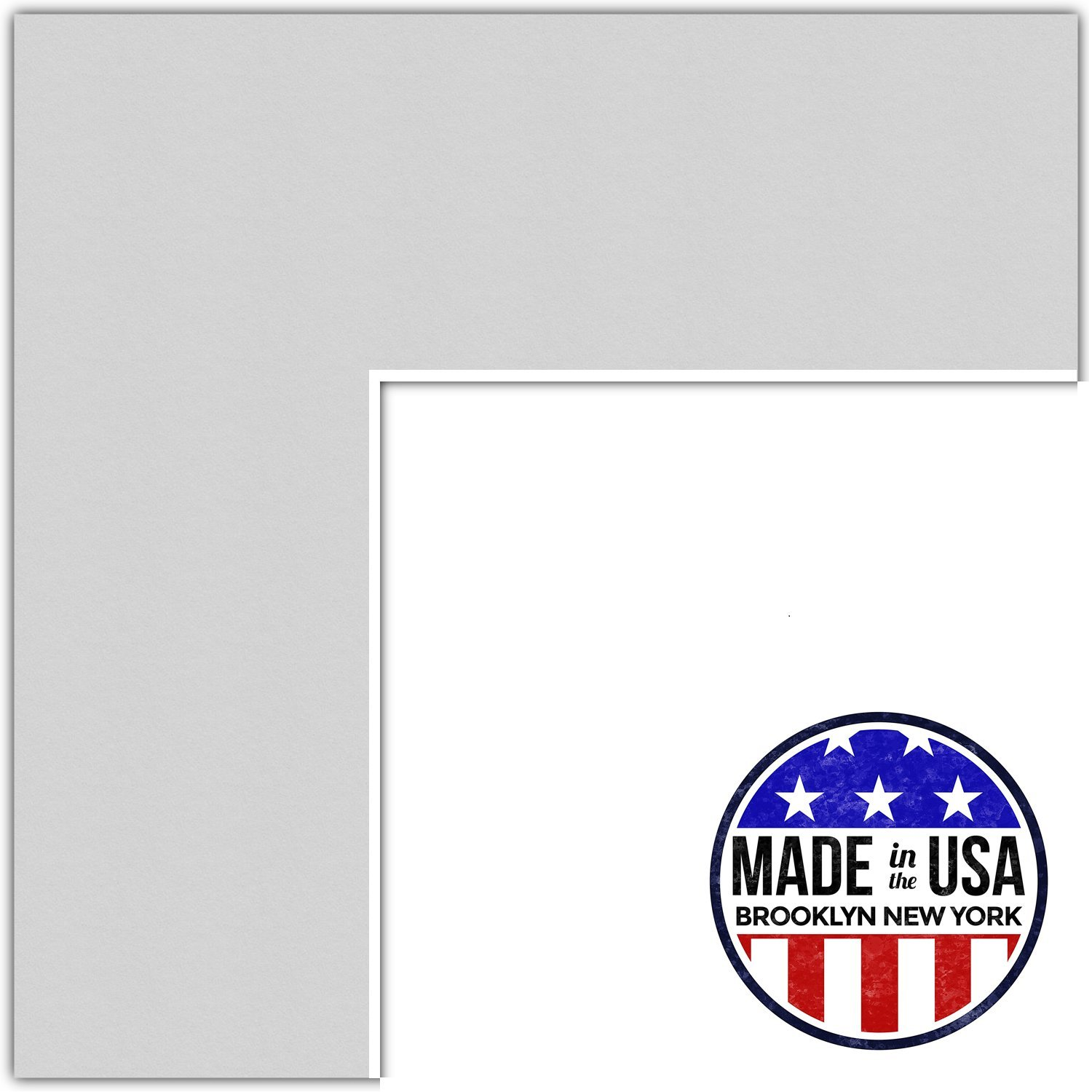 19x23 Clapboard / Candlewick Custom Mat for Picture Frame with 15x19 opening size (Mat Only, Frame NOT Included) by ArtToFrames