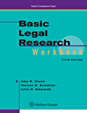 Basic Legal Research Workbook (Aspen Coursebook Series)