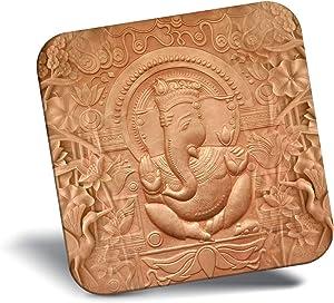 Destination Vinyl ltd Awesome Fridge Magnet - Lord Ganesha Hindu God Indian 21810
