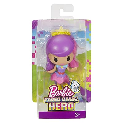 Barbie Video Game Hero Doll - Purple & Pink Hair: Toys & Games