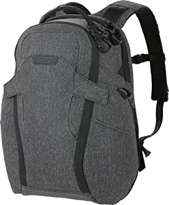 Maxpedition Gear Entity 23 CCW-Enabled Laptop Backpack 23L for Covert Concealed Carry, Charcoal