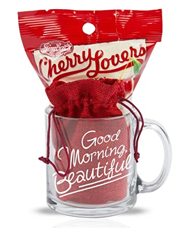 Cutie cups good morning beautiful mug for her 13 ounce candy gift cutie cups good morning beautiful mug for her 13 ounce candy gift set negle