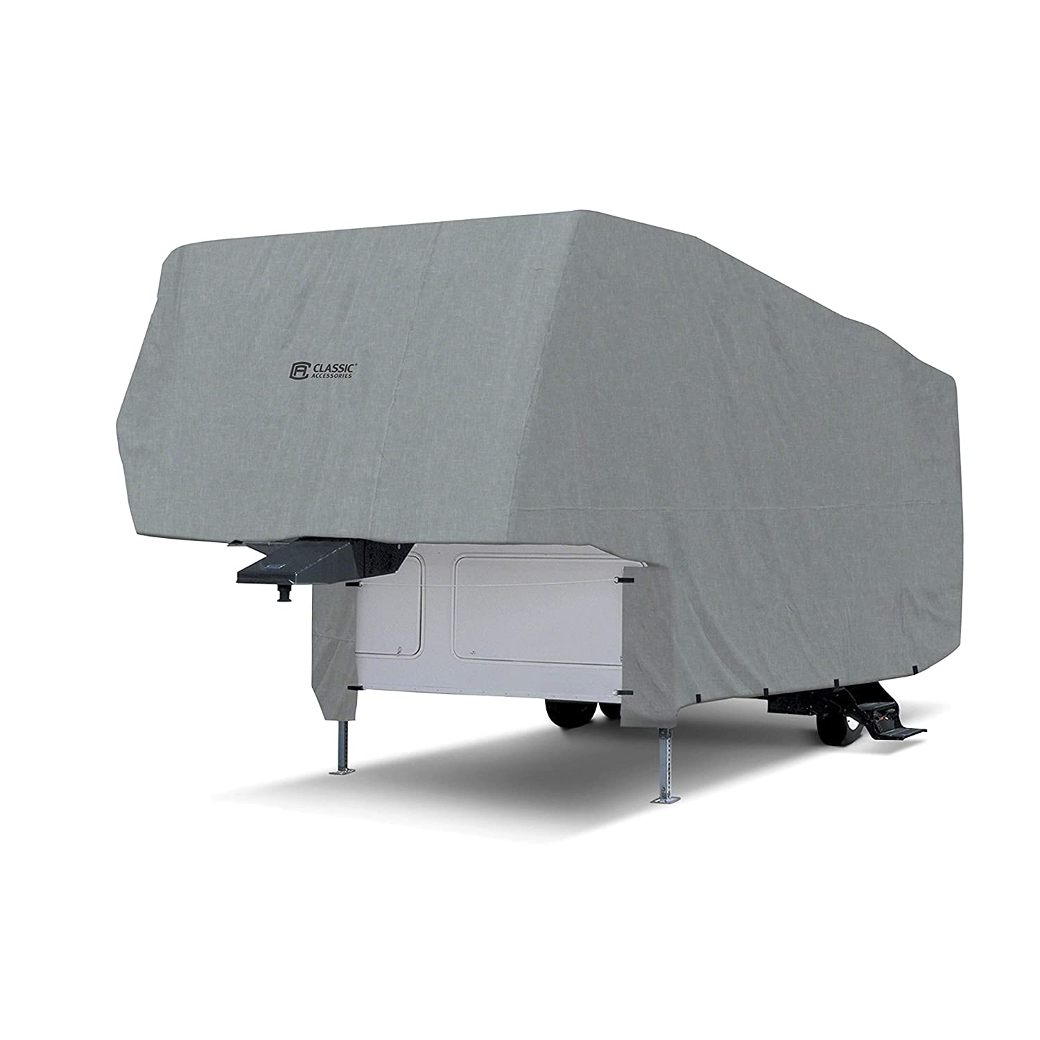 Fits 26-29 RVs Breathable and Water Repellant RV Cover Classic Accessories Overdrive PolyPRO 1 5th Wheel Cover 80-151-161001-00