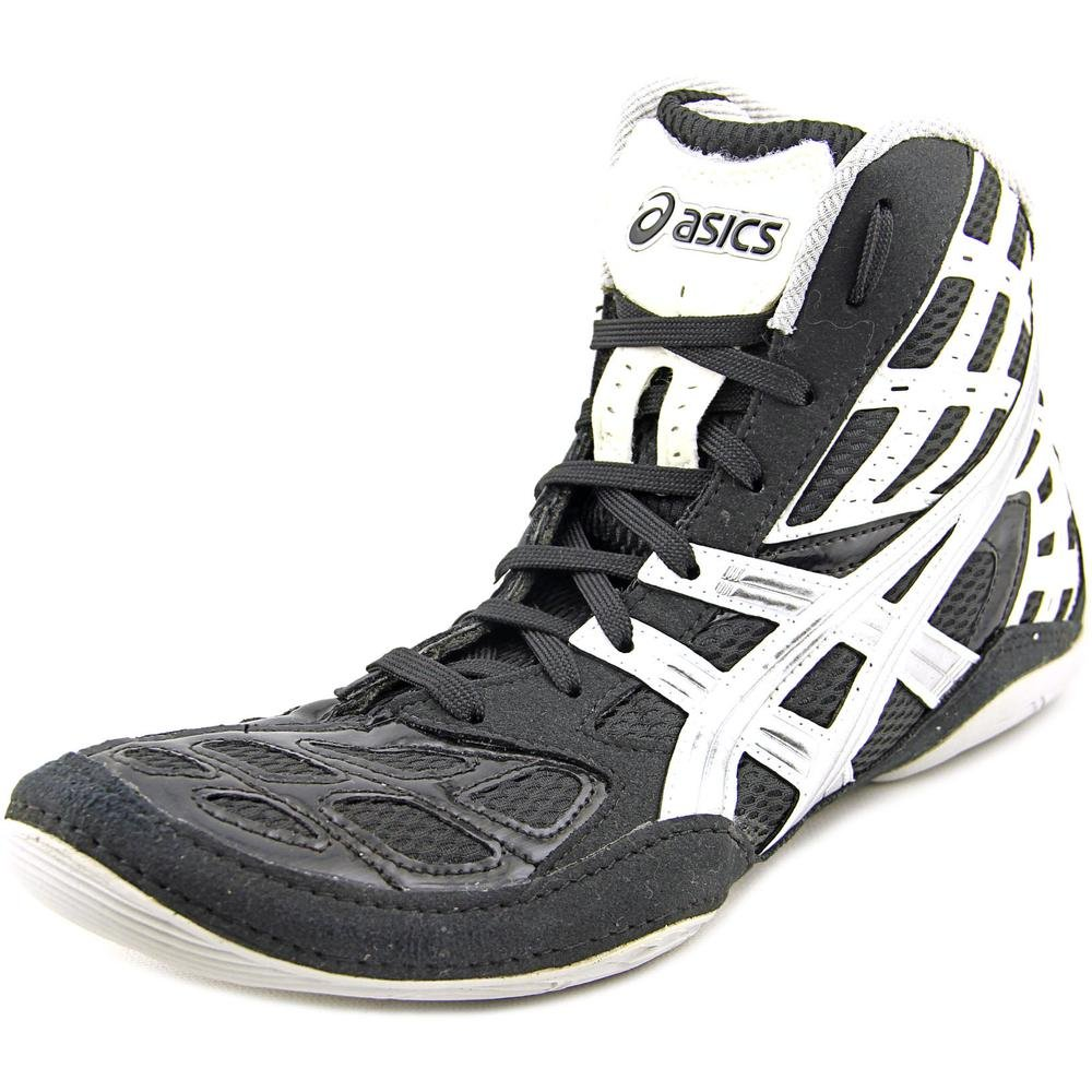 ASICS New Men's Split Second 9 Wrestling Shoe Black/Titanium/White 9.5