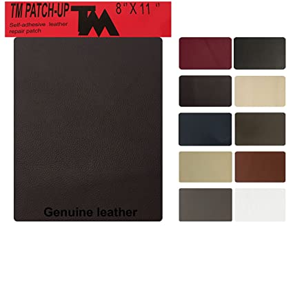 TMgroup , Leather Couch Patch, Genuine Faux Leather Repair Patch , Peel And  Stick For