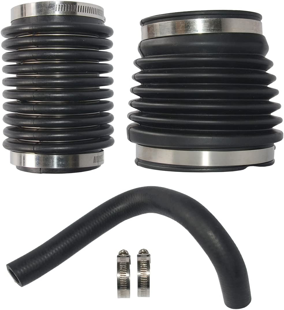 Water Hose Exhaust Bellows Kit for Volvo Penta AQ270 AQ280 Sterndrive 875822 876294 876631