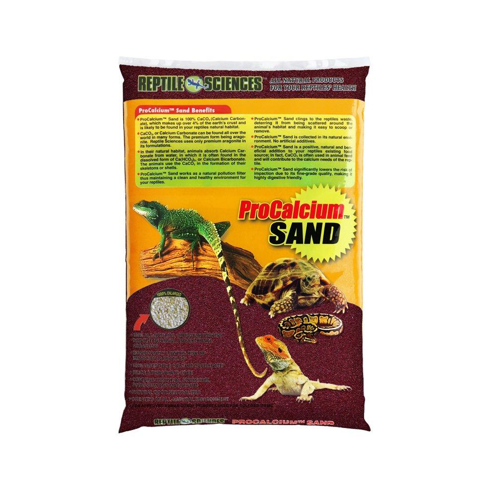 Reptile Sciences Terrarium Sand, 10-Pound, Burgundy by Reptile Sciences