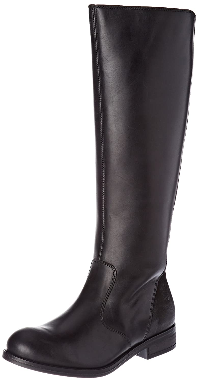 FLY London Women's Axil078fly Equestrian Boot B06WW3L676 37 M EU (6.5-7 US)|Black Rug/Cupido