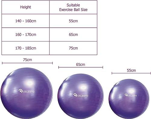CELESTO Exercise Ball