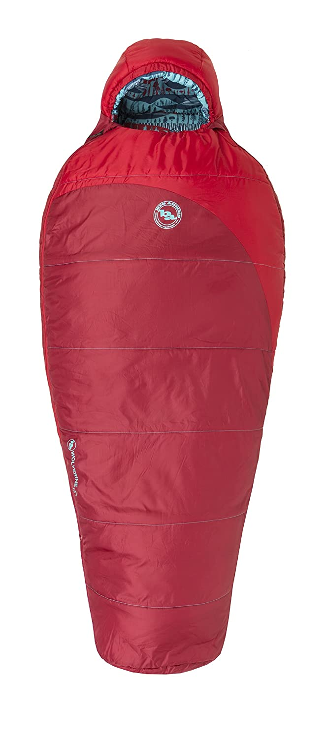 Big Agnes Wolverine 15 Kids Synthetic Sleeping Bag