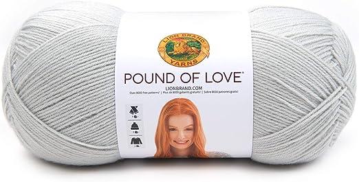 Lion Brand Pound Of Love Baby Yarn White 100 550