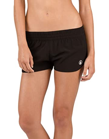5a2cc1234d Volcom Women's Simply Solid 2 Inch Boardshort