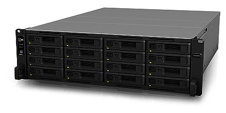 Synology RackStation RS2818RP+ Ethernet Bastidor (3U) Negro NAS ...