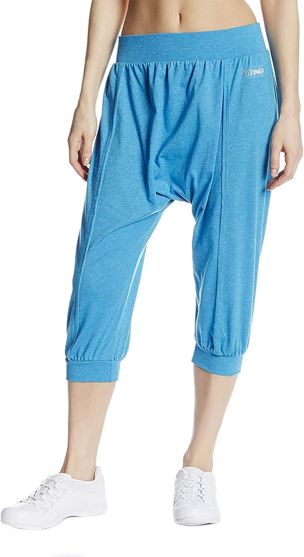 XL Medium Zumba Crop It Capri Pants Surf Blue /& Black ~ size X-Small