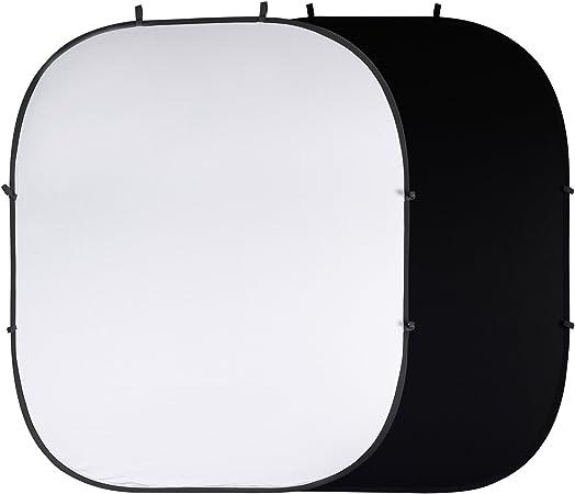 Photosel Bd123wb Klappbare Hintergrund In Schwarzweiß Kamera