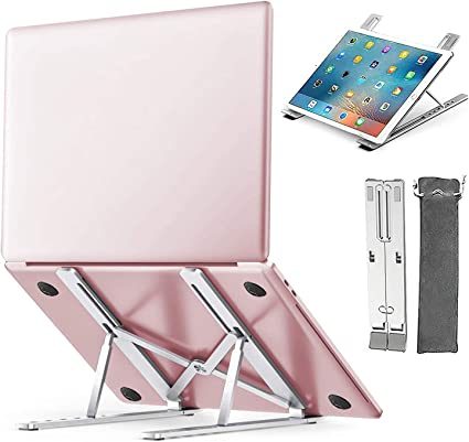 YINKUU Support Ordinateur Portable Aluminium Réglable