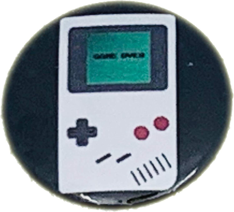 Console Retro-Gaming Geeks Vintage MALALPHA pins Badge