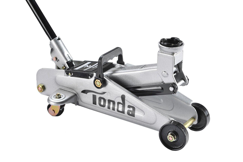 TONDA 2 Ton Capacity Garage Floor Jack Heavy Duty, Quick Lift(The max height 13.4 inches) by TONDA (Image #1)