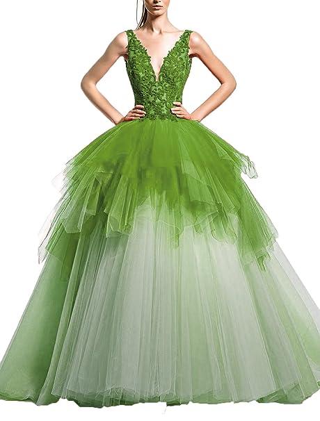 Ugly Women S Sleeveless Deep V Neck Back Wedding Gowns