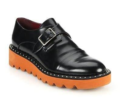 72a52cb4af76d Amazon.com | Stella McCartney Odette Black Monk Strap Shoes 11 | Loafers &  Slip-Ons