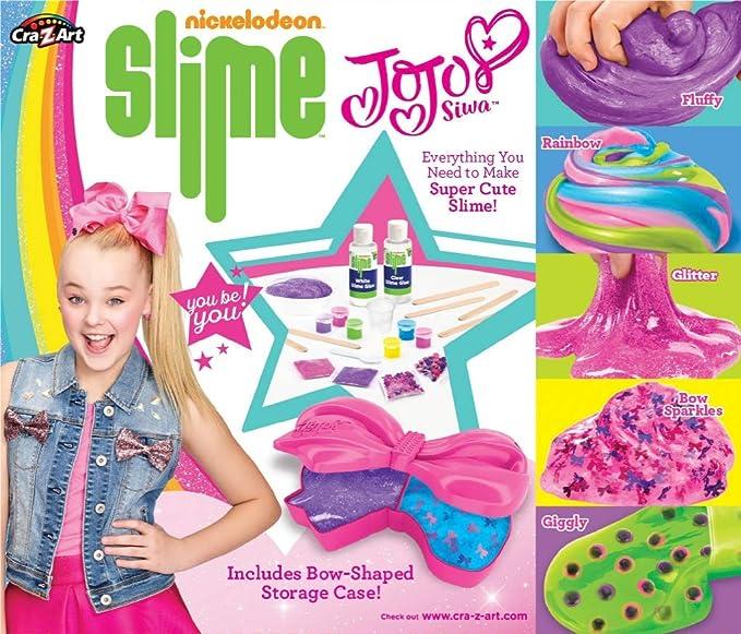 d2971e6fc17 Nickleodeon CRA-Z JoJo Siwa Slime Kit, Multicolor, 6 x 6: Amazon.ca: Toys &  Games