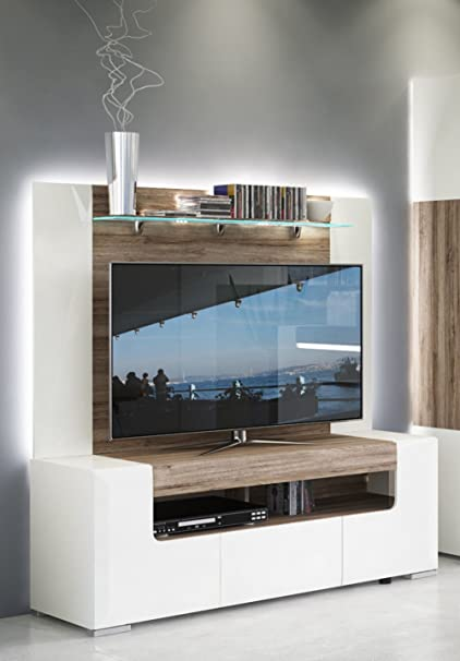 Beau Toronto TV Cabinet With Wall Panel   Medium U2013 Living Room Entertainment  Center / Fit For
